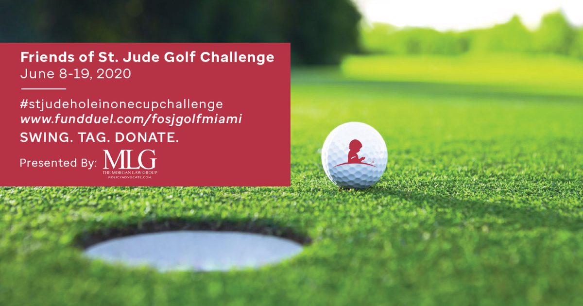 Friends of St. Jude Golf Challenge presented by The Morgan Law Group